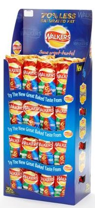 Walkers promotional stand