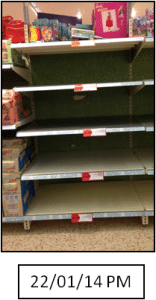 On-Shelf Availability Studies during key event 4