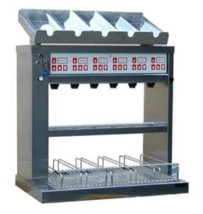 food dispenser and seperator for restaurants