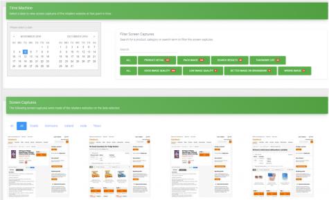 E-commerce analytical platform