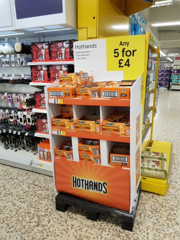 Hand warmers offers